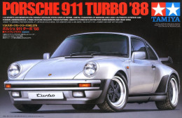 Porsche 911 Turbo ´88 1/24 ( Fujimi ) - Cars