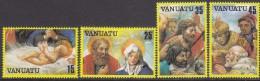 VANUATU, 1982 XMAS 4 MNH - Vanuatu (1980-...)
