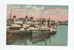 Cp , Bateaux , Ferries , Transbordeurs Et Gare Maritime , Montagne Du ROULE , Vierge , Dos Bleu , 2 Scans - Ferries