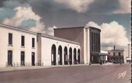 CPSM CAEN(14)neuve-la Gare Des Chemins De Fer - Caen