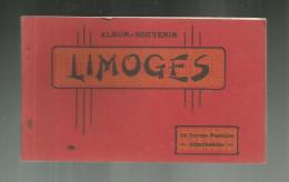 Cp , 87 , LIMOGES , Album Souvenir De 18 Cartes , RESTE 13 CARTES - Limoges