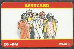 Germany, Bestcard, Prepaid, Talking People, 20,- DM.