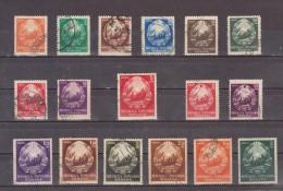 1952 -  SERIE COURANTE, YV No1264A/1273A Et MI No 1370/1384  -5- - 1948-.... Republics