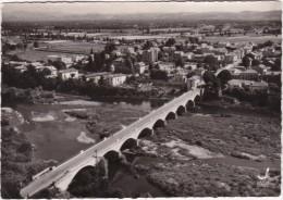 MONTROND-les-BAINS - Vue D'Avion - Vue Générale - Le Pont Sur La Loire - CPSM GF - Francia