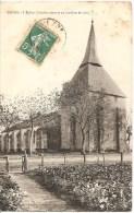 Mezos-l'Eglise ,clocher Couvert De Lamelles De Bois ! - Other Municipalities