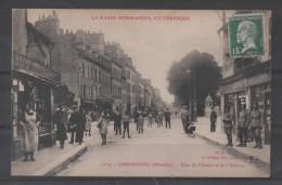 Cpa 50 - CHERBOURG -Rues De L'Union Et De L'Abbaye   ( Ref Ch 131 ) - Cherbourg
