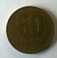 ARGENTINE -  50 Centavos 1994 - - Argentine
