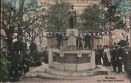 ! Alte Ansichtskarte Aus Bochum, 1912, Brunnen, Graf Engelbert Denkmal - Bochum
