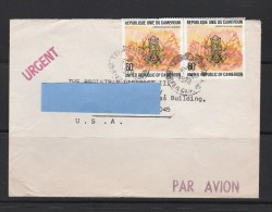 Z] Enveloppe Cover Cameroun Cameroon Grenouille Frog Batracien Batracian - Cameroon (1960-...)