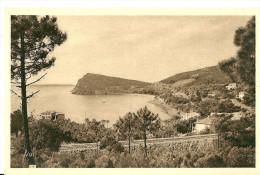 Le Lavandou. La Ligne De Chemin De Fer , Pramousquier Et Le Cap Negre. - Le Lavandou