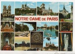 75 - PARIS . NOTRE-DAME DE PARIS . MULTI-VUES - Réf. N°12714 - - Notre Dame De Paris