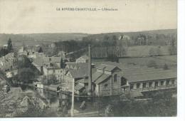 27-LA RIVIERE-THIBOUVILLE-Une Vue Aérienne De L'Hôtellerie-Usine - Autres Communes