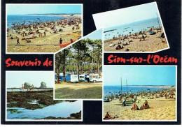 CPM FRANCE 85 VENDEE SAINT-HILAIRE-DE-RIEZ - Sion-sur-l'Océan - Multivues - Saint Hilaire De Riez