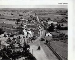 1958 - Héliogravure - Bourgueil (Indre-et-Loire) - Vue Aérienne - FRANCO DE PORT - Unclassified