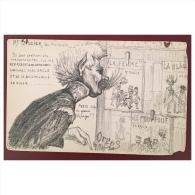 ORENS - Mr Crosier Du Protocole  Précurseur  1902  Carte Abimée Mais Très Rare - Orens
