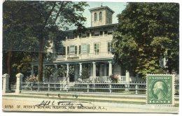 - 67763 - ST. PETER'S  Général Hospital - NEW BRUNSWICK, N. J., épaisse, écrite En 1914, Cachet, BE, Scans. - Etats-Unis