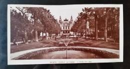Authentique  Photo Argentique Grand Format, MONTE CARLO ,Casino, Debut 1900 - Lieux
