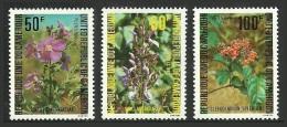 CAMEROUN 1980 ASIAN FLOWERS TREES SHRUBS CLERODENDRON SET MNH - Cameroon (1960-...)