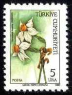 TURKEY 1985 (**) - Mi. 2702, Wild Flowers - 1921-... République