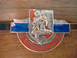 Insigne Marine Nationale Cuirassé Strasbourg 1939. - Marine