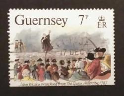 GUERNSEY. USADO - USED. - Guernsey