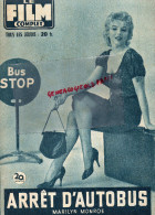 CINEMA- LE FILM COMPLET- ARRET D' AUTOBUS- MARILYN MONROE-N°613- 1957-GABY ANDREU-DON MURRAY-O'CONNELL-RARE - Cinema