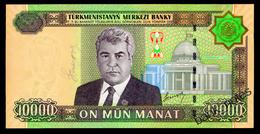 TURKMENISTAN 10000 MANAT 2005 Pick 16 Unc - Turkmenistan