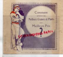63 -CLERMONT FERRAND -CATALOGUE GRANDE GRAINETERIE FRANCAISE- F.MIZOULE 20 RUE ANDRE MOINIER-HORTICULTURE FLORE - Shoes