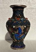 CINA (China): Chinese Vintage Enameled Small Vase - Arte Orientale