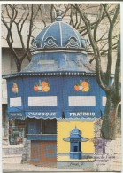 Lisbon Street Kiosks - R. Artilharia Um (Maximum Card) - Architecture