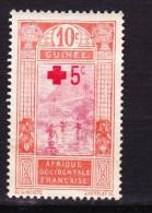 Guinée - 1915 - YT 80 Croix Rouge Dallay - Neufs