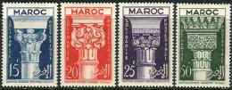 Maroc 1952. Michel #344/47 MH/Luxe. (B49) - Maroc (1891-1956)