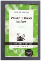 Andanzas Y Visiones Espanolas Unamuno Miguel - Cultura