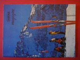 SABENA MAGAZINE N° 5 -1957 ( Avion Aviation Tourisme ) Suisse Garmisch Partenkirchen Scandinavie Autriche Rome Dolomites - Guides Touristiques