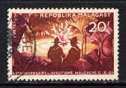 MADAGASCAR - N° 395° - 40è ANNIVERSAIRE DU SCOUTISME NATIONAL - Madagascar (1960-...)