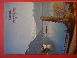 SABENA MAGAZINE 1958 ( Avion Aviation Tourisme ) Suisse - Guides Touristiques