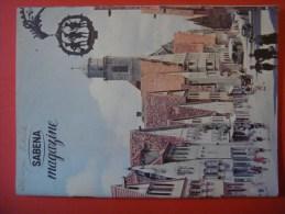 SABENA MAGAZINE 1958 ( Avion Aviation Tourisme ) Allemagne Autriche - Guides Touristiques