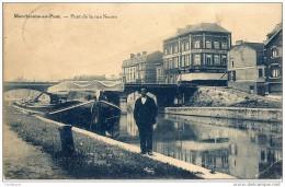 MARCHIENNE-AU-PONT - Pont De La Rue Neuve - Homme Sur Le Quai - Edit. Belge - 1931 - Charleroi