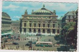 Paris  :  Vue  Bus - Francia