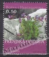Bosnia Herzegovina - Mostar - Croatia 2003 Yvert 86, Wild Flowers - MNH - Bosnia Herzegovina