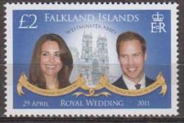 Antarctic.Falklands Islands.2011.Royal Wedding.MNH.22207 - Zonder Classificatie