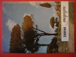 SABENA MAGAZINE 1959 ( Avion Aviation Tourisme ) Italie - Guides Touristiques