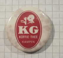 Coffee KG - Button Pin Badges / Kaffee Café Caffe - Boissons