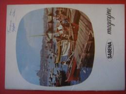 SABENA MAGAZINE 1960 ( Avion Aviation Tourisme ) - Guides Touristiques