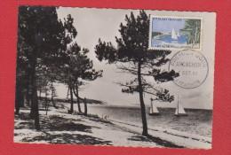 Carte 1er Jour  //   Arcachon //  7 Octobre 1961 - Cartes-Maximum