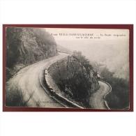Route Mur De Barrez Laguiole La Route Sussendue Sur Le Coté Du Ravin  Edit. Veuve Lagriffoul - Laguiole