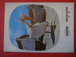 SABENA MAGAZINE 1962 ( Avion Aviation Tourisme ) - Guides Touristiques