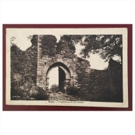 Najac  Première Entrée Du Château - Najac