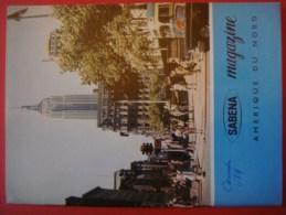 SABENA MAGAZINE 1964 ( Avion Aviation Tourisme ) - Guides Touristiques
