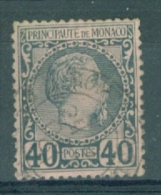 MONACO - Yv Nr 7 - Gest./obl. - Cote 60,00 € - Monaco